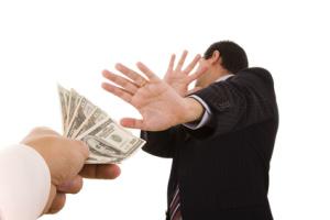 Помощь юристов по составлению программы по антикоррупционной политике для предприятий и организаций Украины