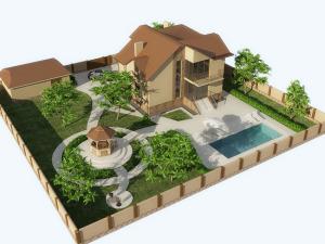 Дом с земельным