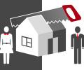 Раздел  имущества при расторжение брака