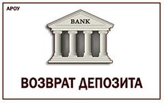 вернуть депозит с украинских банков