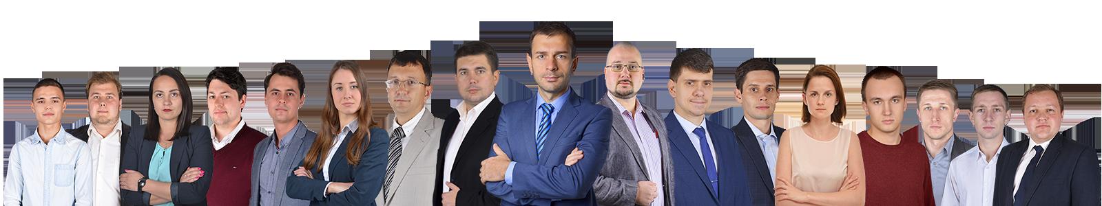 Сотрудники киевской юридической компании АРОУ