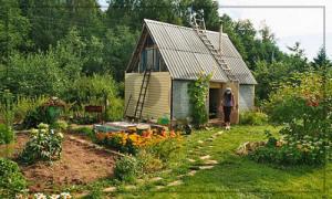 Изменение статуса садового дома