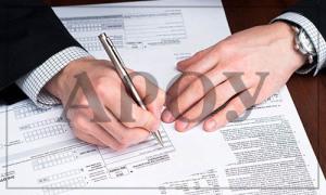 формирование платежных поручений на уплату налогов